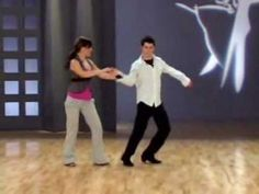 """West Coast Swing lesson - """"Moves and Grooves"""" with Ben Morris and Melina Ramirez"""