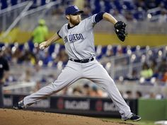 San Diego Padres starting pitcher Ian Kennedy throws in the first inning of a baseball game against ... - AP Photo/Lynne Sladky