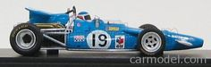 SPARK-MODEL S1609 Scale 1/43  MATRA SIMCA F1  MS84 N 19 6th GP CANADIAN 1969 JOHNNY SERVOZ - GAVIN BLUE