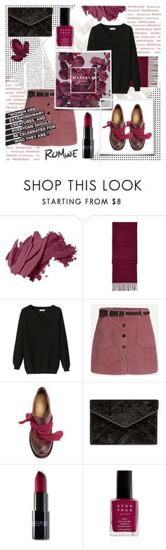 """PINK CORDUROY SKIRT"" by celine-diaz-1 ❤ liked on Polyvore featuring Bobbi Brown Cosmetics, Aspinal of London, Cherevichkiotvichki, Christian Dior, Rebecca Minkoff, Rubis and Avon"