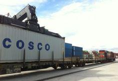 ΤΡΑΙΝΟΣΕ-COSCO: Υπεγράφει συμφωνία για την μεταφορά containers στην Ευρώπη