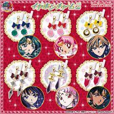 """""""sailor moon"""" """"sailor moon toys"""" """"sailor moon merchandise"""" """"sailor moon gashapon"""" """"sailor moon charm"""" """"sailor moon 2015"""" earrings charm anime"""