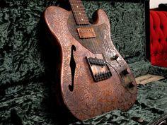 ) guitar *WANT* Guitar Riffs, Guitar Chords, Telecaster Thinline, Resonator Guitar, Guitar Body, Beautiful Guitars, Custom Guitars, Vintage Guitars, Cool Guitar