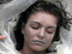 """Twin Peaks.  """"She's dead! Wrapped in plastic."""""""