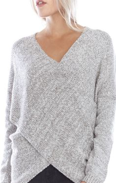 Hamptons Knit Sweater - Taupe - ShopLuckyDuck - 1