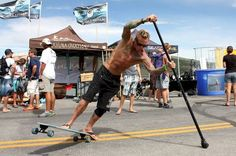 Bucket List Idea - Try Land Paddling This Summer ! #bucketlist, #SUP, #landpaddling, stand up land paddling, paddleboarding....#bucketlist, #adventuretime , #fitness , #fitnessjourney , #workout , #workoutmotivation