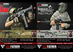 Godfather Airsoft Premium Packages