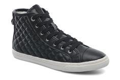 Geox D NEW CLUB A D4258A Sneakers i Sort hos Sarenza (219948)