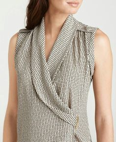TYPE: shawl neck crossover  SOURCE: saba