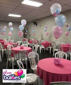 Decoração de Balões Centro de Mesa Balões com gás hélio Tema Peppa Pig Baby Shower Centerpieces, Baby Shower Decorations, Wedding Decorations, Mesas Para Baby Shower, Going Away Parties, Deco Table, Balloon Decorations, Baby Boy Shower, Boy Or Girl