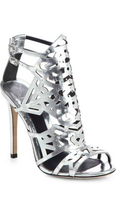 B Brian Atwood. Another shoe to pump up a basic LBD you already have. Just add earrings or a statement cuff but not both.