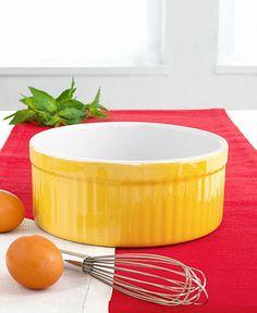 """Emile Henry Classics 7"""" Souffle Dish (Macy's)"""