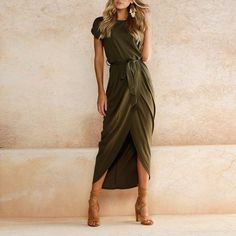 Boho Maxi Dress. Need this dress in pink!! Or green or grey or whatever, I just need it!