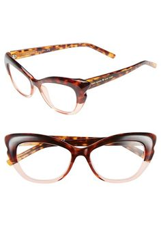 kate spade new york 'alva' 52mm reading glasses available at Nordstrom...do these come in normal glasses too?