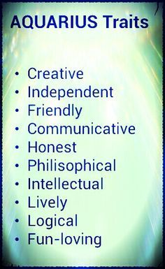 My Age of Aquarius, My Sign of Aquarius and My Life as an Aquarian ...
