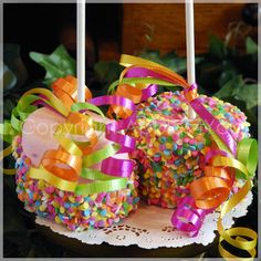 Fun-covered Marshmallows