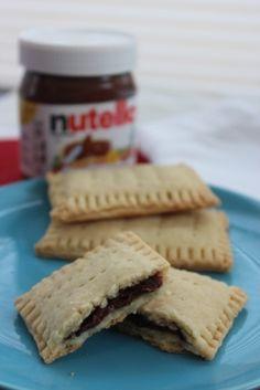 Homemade Nutella Pop Tarts #homemadepoptarts #homemadenutellapoptarts #nutellapoptarts