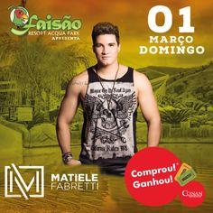 *Nas compras acima de R$50,00 ganhe 1 par de ingresso para o show de Matiele Fabretti no Faisão, domingo (01/03).  #ConanNutrition #ComprouGanhou #Faisão