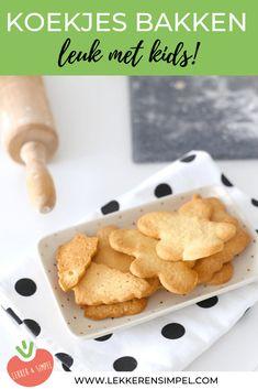 Basisrecept voor koekjes bakken - Lekker en Simpel Food Porn, Cookie Decorating, Macarons, Kids Meals, Cereal, Sweets, Breakfast, Cake, Desserts