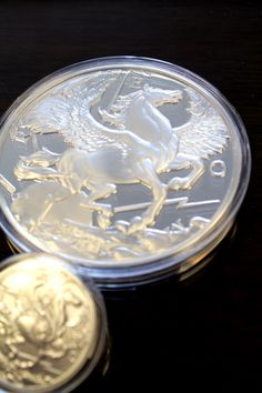 10 oz Pegasus Silver Proof Round #pegasus #silver #coin #goodinvestment #investment