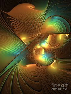 Lights In A Magical World Digital Art