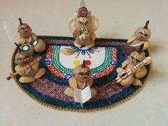 Diwali Decorations, Indian Wedding Decorations, Festival Decorations, House Decorations, Ceremony Decorations, Arti Thali Decoration, Ganapati Decoration, Art N Craft, Craft Work