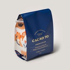 I would buy this cocoa only for the packaging - packaging - Chocolate Luxury Packaging, Food Packaging Design, Beverage Packaging, Coffee Packaging, Print Packaging, Packaging Design Inspiration, Bottle Packaging, Foil Packaging, Luxury Branding