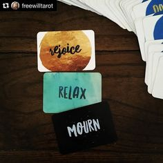 An important message from the Do It Now deck shared by @freewilltarot . #Repost @freewilltarot with @repostapp  Instructions from the #doitnowdeck on what to focus on today. - What action speaks to you to most? For me it's #mourn since I am dealing with having to let go of some stuff and in order to do that I need to allow myself the space for #mourning - I look at these three card pulls as one main card and two supplementary so the other two cards tell me that there will be…