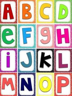 Bright and Cherry Letters (like Die Cut, but better). Use these fun Alphabet Letters for Classroom Bulletin Boards, Title Headers, LIVE Spelling, Word Sorts, Alphabet Centers (35+ ideas & hyperlinks of ways to use them).