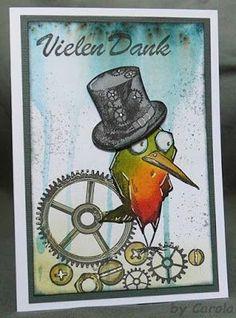 Steampunk Crazy Bird