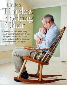 Rocking Chair Plans - Furniture Plans