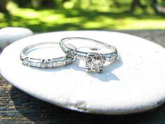 vintage wedding rings :)
