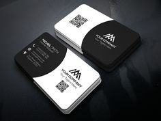 Modern Business Card on Behance Business Cards Layout, Business Card Psd, Elegant Business Cards, Professional Business Cards, Business Card Design, Calling Card Design, Name Card Design, Identity Branding, Corporate Identity