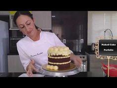 Chocolate Chip Recipes, Mint Chocolate Chips, Bolo Nake Cake, Bolo Tiramisu, Bolos Cake Boss, Naked Cake, Baking Party, No Cook Desserts, Pumpkin Cheesecake