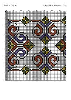 Cross Stitch Designs, Cross Stitch Patterns, Celtic Cross Stitch, Turkish Art, Beaded Bracelet Patterns, Bargello, Cross Stitch Flowers, Traditional Art, Kids Rugs