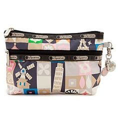 Disney ''it's a small world'' Clutch by LeSportsac - ''Global Journey'' | Disney Store''it's a small world'' Clutch by LeSportsac - ''Global Journey'' - Carry daily essentials throughout your busy world in our charming clutch bag by LeSportSac, with designs inspired by Walt Disney's classic ''it's a small world'' attraction and legendary color stylist Mary Blair.