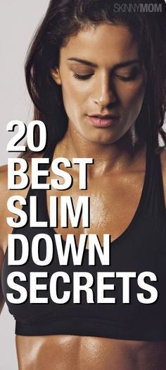 These 20 secrets can help you lose the weight once and for all!