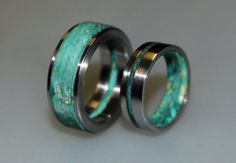 Hey, I found this really awesome Etsy listing at https://www.etsy.com/listing/211811899/wedding-ring-set-his-and-hers-wedding