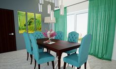 Emerald Fusion Dining Room