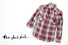 The plaid shirt Plaid, Shirts, Fashion Trends, Tops, Women, Gingham, Dress Shirts, Shirt, Tartan
