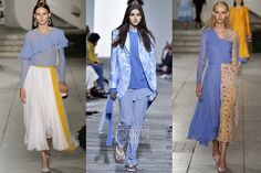 Pantone Fashion Color Report Spring-Summer 2018: Little Boy Blue // Модные цвета весна-лето 2018: Little Boy Blue