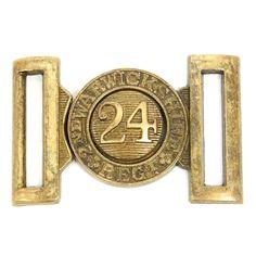 24th Regiment of Foot Belt Buckle