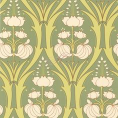 I love the William Morris touches to this wallpaper. Amy Butler does some beautiful work in the decorative arts! I pinned this Passion Lily Wallpaper in Field from the Amy Butler event at Joss and Main! Lily Wallpaper, Wallpaper For Sale, Home Wallpaper, Pattern Wallpaper, Green Wallpaper, Eclectic Wallpaper, Unique Wallpaper, Contemporary Wallpaper, Wallpaper Gallery