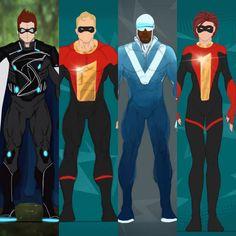 Marvel And Dc Characters, Marvel Heroes, Marvel Dc, Disney Incredibles, Superhero Design, Big Hero 6, Character Design Inspiration, Comic Books Art, Character Design