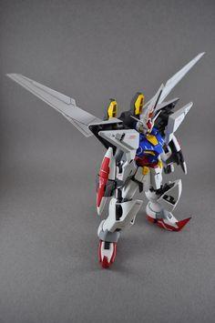 """MG 1/100 Deathscythe Gundam EW """"Death Striker Gundam"""": Custom Work by ah559881."""