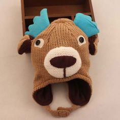 Autumn And Winter Baby Animal Hats Cute Deer Hats For Kids $19.00 #Lovejoynet #Animal #Hats