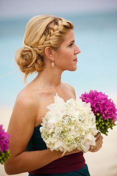 Hairstyles, formal hairstyles, wedding hair and makeup, mod wedding, beach hair Beach Wedding Hair, Mod Wedding, Wedding Hair And Makeup, Dream Wedding, Beach Weddings, Headpiece Wedding, Wedding Updo, Bridal Headpieces, Wedding Rings