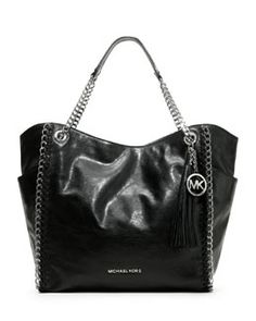 MICHAEL Michael Kors  Large Chelsea Tote - lambskin leather! My just because gift from the Fiance, thanks babe!