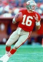 San Francisco 49ers Pictures (1946-Present) Joe Montana