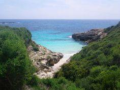 Beach Binisafua Menorca.